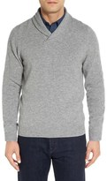 Nordstrom Shawl Collar Cashmere Pullover (Regular & Tall)