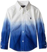 Polo Ralph Lauren Oxford Dip-Dye Shirt (Toddler)