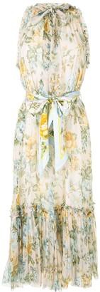 Zimmermann Lucky Tuxedo floral dress