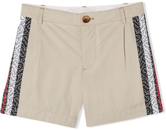 BURBERRY KIDS Monogram Stripe Shorts