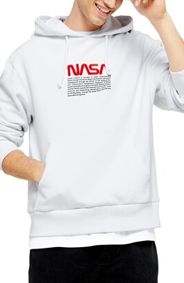 Topman NASA Embroidered Hoodie
