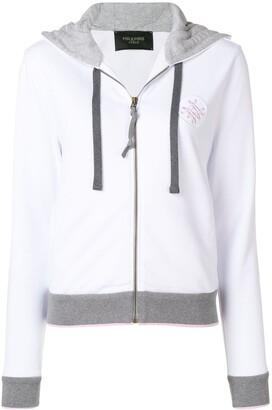 Mr & Mrs Italy contrast trim hoodie