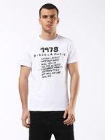 Diesel DieselTM T-Shirts 0091B - White - XL
