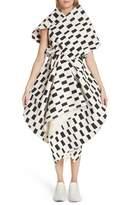 Junya Watanabe Interweave Geo Print Dress