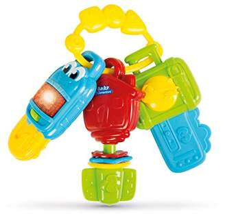 Clementoni Electronic Keys Teether Toy with Light and Sounds