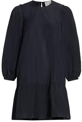 Cinq à Sept Jackie Puff-Sleeve Mini Dress