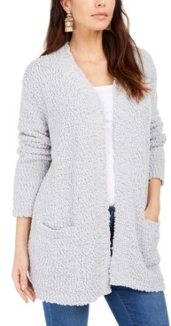 Style&Co. Style & Co Popcorn-Knit Open-Front Cardigan, Created for Macy's