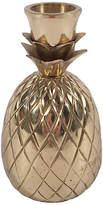 One Kings Lane Vintage Brass Pineapple Candlestick