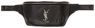 Saint Laurent Black Snake Classic Monogramme Belt Bag