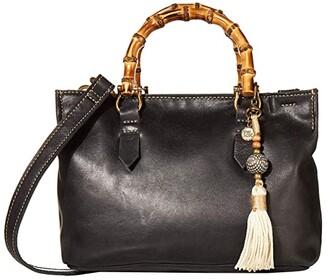 The Sak Santa Barbara Mini Satchel (Black) Handbags