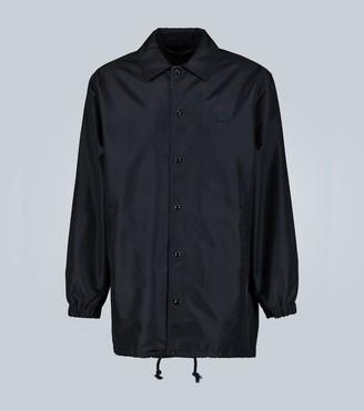 Acne Studios Oscoda face-print coach jacket