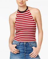 Free People Rochford Striped Halter Top
