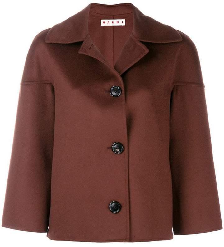 Marni cropped button jacket
