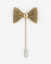 Le Château Metal Bow Lapel Pin