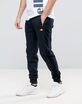 Ellesse Skinny Joggers With Velour Panel