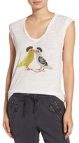 Pam & Gela Women's Mohawk Birds Tank
