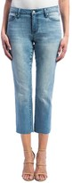 Liverpool Jeans Company Women's Bryce Straight Leg Crop Jeans