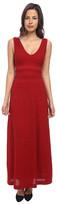 M Missoni Solid Rib Stitch Long Dress