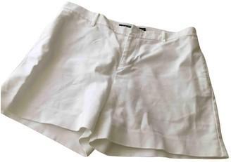Lauren Ralph Lauren White Cotton - elasthane Shorts for Women