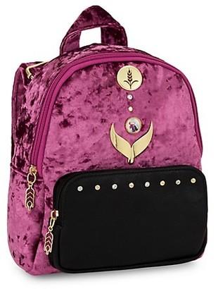 FANTASIA Disney's Frozen 2 Girl's Mini Velvet Backpack