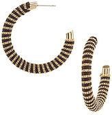 Anna & Ava Sophia Thread-Wrapped Hoop Earrings