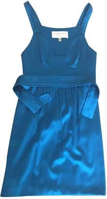 Jasmine Di Milo Blue Silk Dress for Women