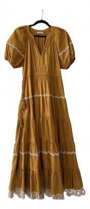Ulla Johnson Yellow Cotton Dresses