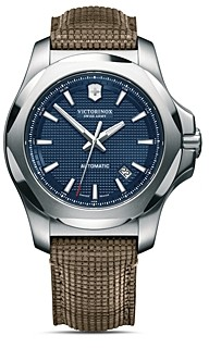 Victorinox I.n.o.x Mechanical Blue Dial Watch, 43mm