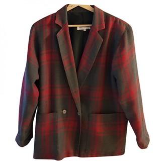 Gerard Darel Grey Wool Jacket for Women