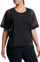Nike Plus Size Women's Breathe High/low Top