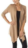 Mossimo® Women's Rolled Sleeve w/Tab Drapey Cardigan - Camel