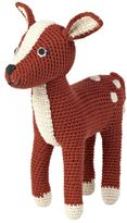 Anne Claire Bambi Hand-Crocheted Organic Cotton Fawn
