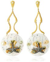 Azaara Starfish Shell Drop Earrings