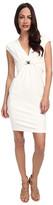 Versace Jersey V-Neck Dress
