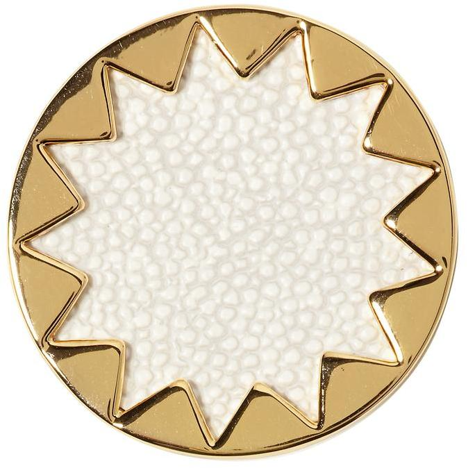 House Of Harlow White Sand Medium Sunburst Ring