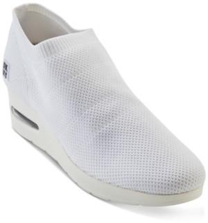 DKNY Alfie Knit Wedge Sneakers