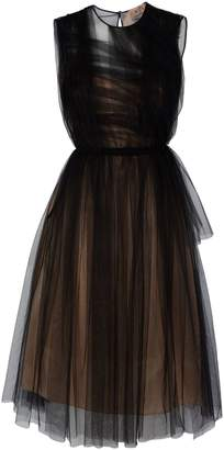 N°21 Ruched Tulle Dress