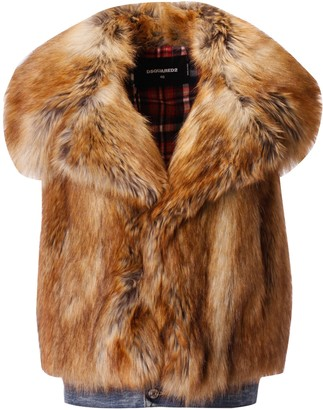 DSQUARED2 Fur Vest