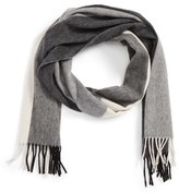 Nordstrom Men's Clean Block Cashmere Scarf