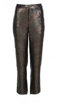 Tibi All Over Sequins Slouch Pants