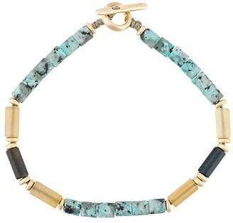 M. Cohen gemstone beaded bracelet