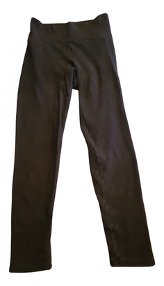 James Perse Black Cloth Trousers