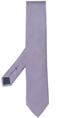 Ermenegildo Zegna Geometric Print Necktie