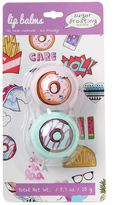 Simple Pleasures 2-pk. Sugar Frosting Donut Lip Balm Pods