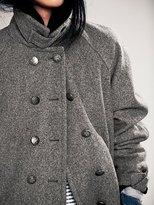 Free People Cocoon Wool Coat