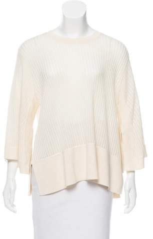 Derek Lam Cashmere-Silk Ribbed Sweater w/ Tags