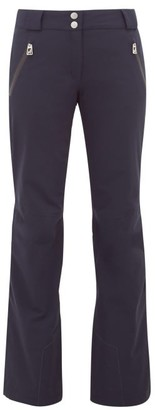 Toni Sailer Victoria Flared Padded Technical Ski Trousers - Womens - Navy