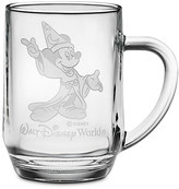 Disney Sorcerer Mickey Mouse Glass Mug by Arribas - Personalizable