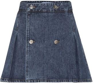 Matthew Adams Dolan Denim miniskirt