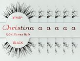 Christina 6packs Eyelashes - #WSP (Same factory & production line as Red Cherry)
